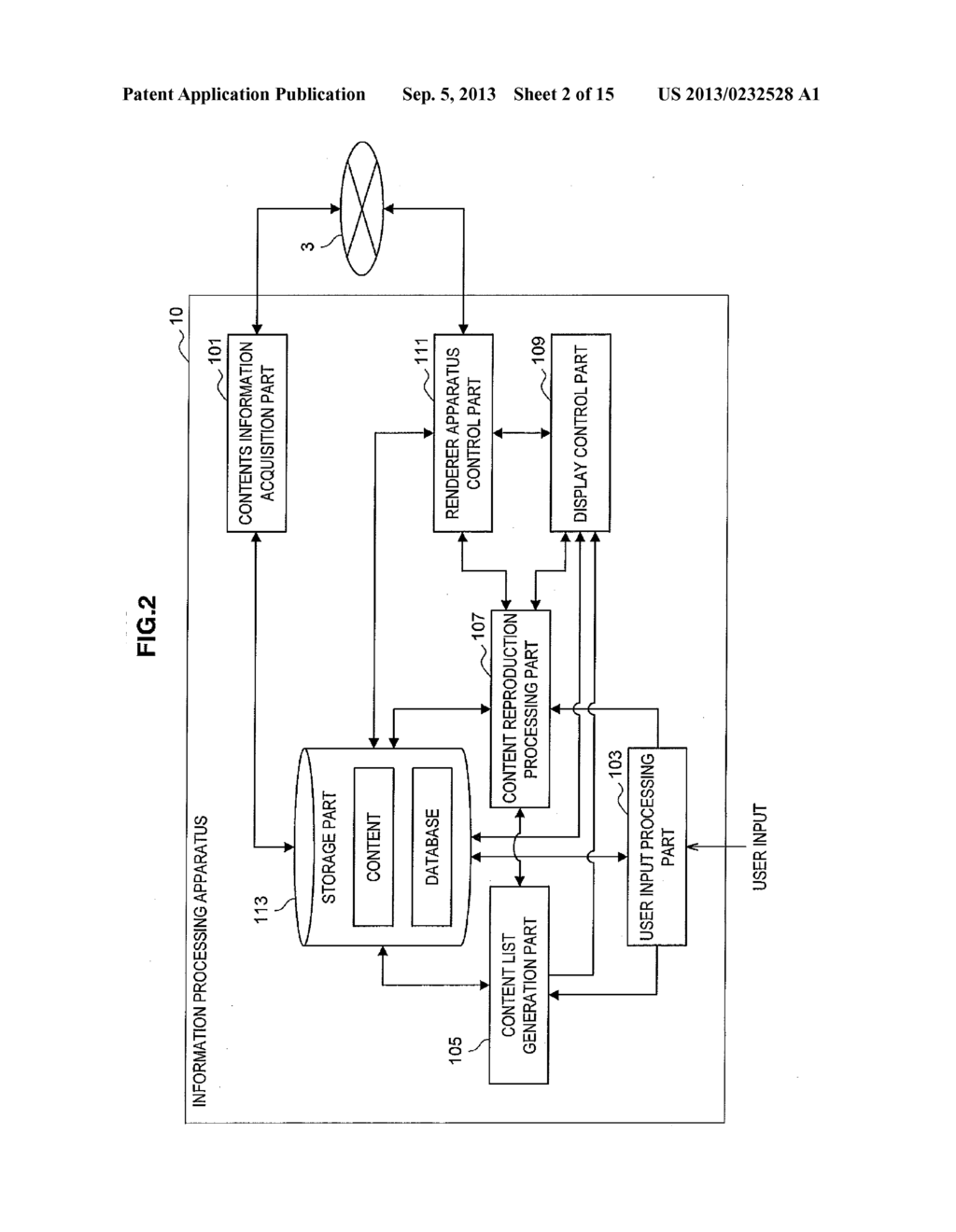 INFORMATION PROCESSING APPARATUS, INFORMATION PROCESSING METHOD, PROGRAM     AND INFORMATION PROCESSING SYSTEM - diagram, schematic, and image 03