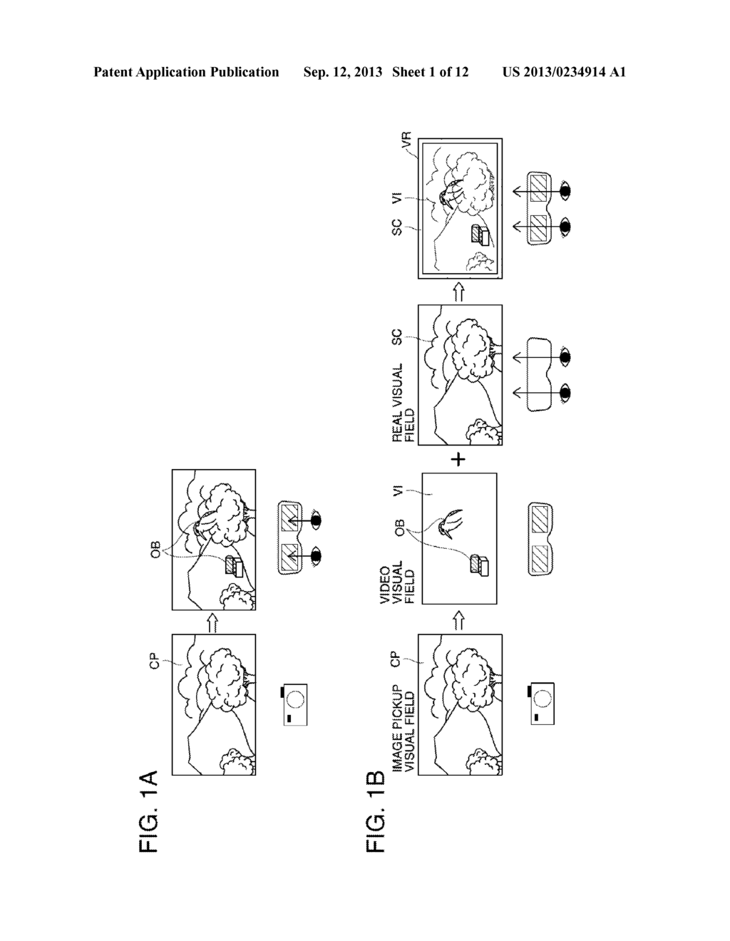HEAD-MOUNTED DISPLAY DEVICE AND CONTROL METHOD FOR THE HEAD-MOUNTED     DISPLAY DEVICE - diagram, schematic, and image 02