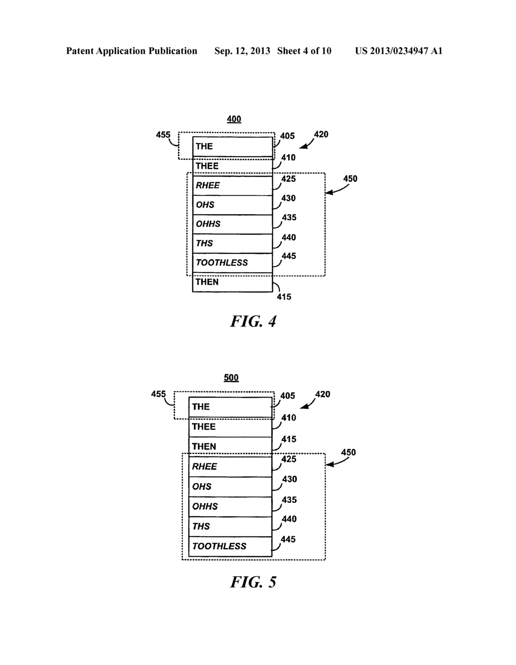 SYSTEM AND METHOD FOR IMPROVING TEXT INPUT IN A SHORTHAND-ON-KEYBOARD     INTERFACE - diagram, schematic, and image 05