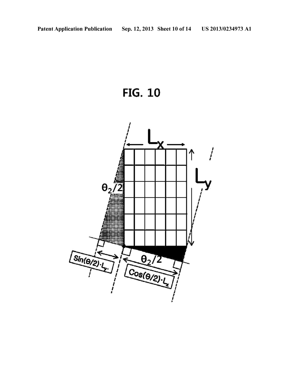 TOUCH SCREEN PANEL AND IMAGE DISPLAY DEVICE INCLUDING SAME - diagram, schematic, and image 11