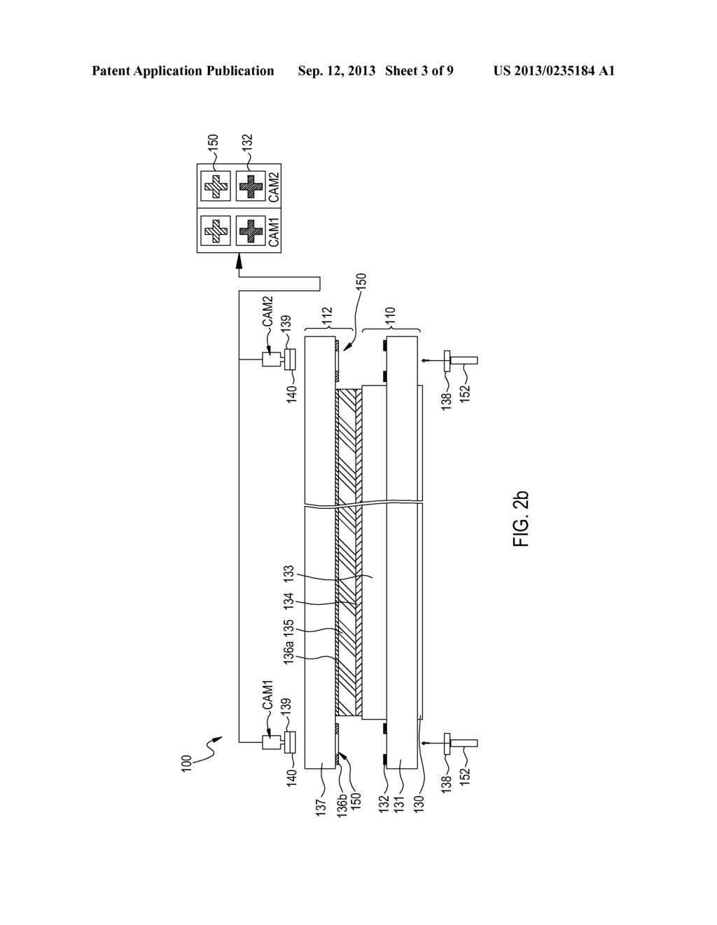 SYSTEM FOR ALIGNING AND ATTACHING A 3D IMAGE DISPLAY AND METHOD FOR     POSITIONING A PHASE RETARDER SUBSTRATE - diagram, schematic, and image 04