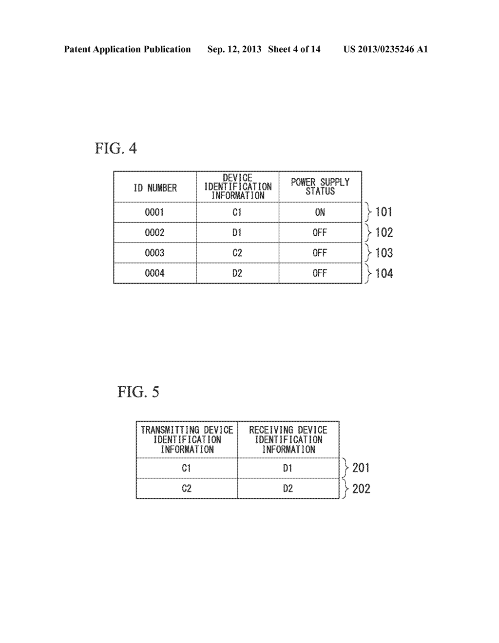 DISPLAY DEVICE, TRANSMITTING TERMINAL, RECEIVING TERMINAL AND WIRELESS     COMMUNICATION SYSTEM - diagram, schematic, and image 05