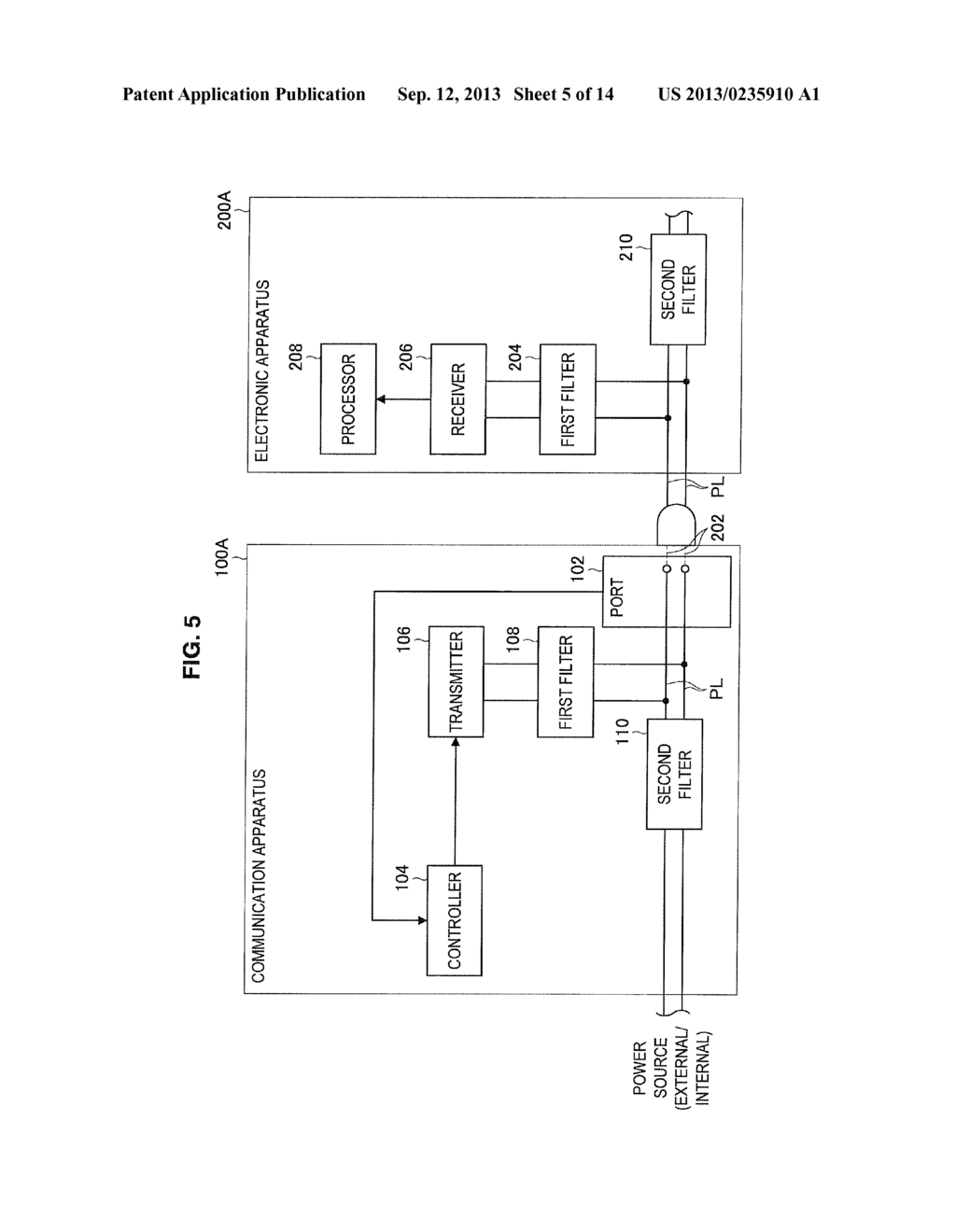 COMMUNICATION APPARATUS, ELECTRONIC APPARATUS, RELAY NODE, COMMUNICATION     METHOD, AND COMMUNICATION SYSTEM - diagram, schematic, and image 06