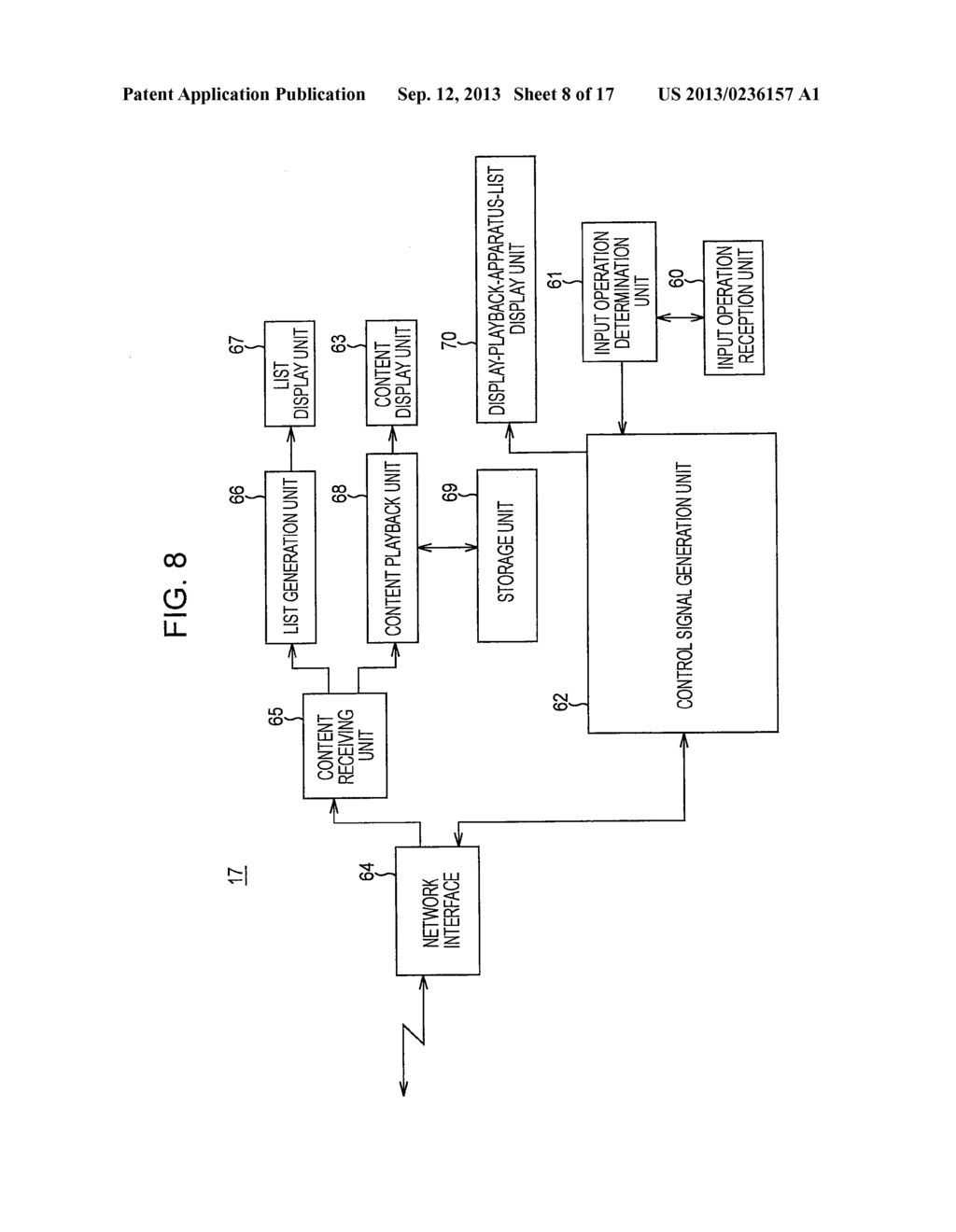 CONTENT DISPLAY-PLAYBACK SYSTEM, CONTENT DISPLAY-PLAYBACK METHOD,     RECORDING MEDIUM HAVING CONTENT DISPLAY-PLAYBACK PROGRAM RECORDED     THEREON, AND OPERATION CONTROL APPARATUS - diagram, schematic, and image 09