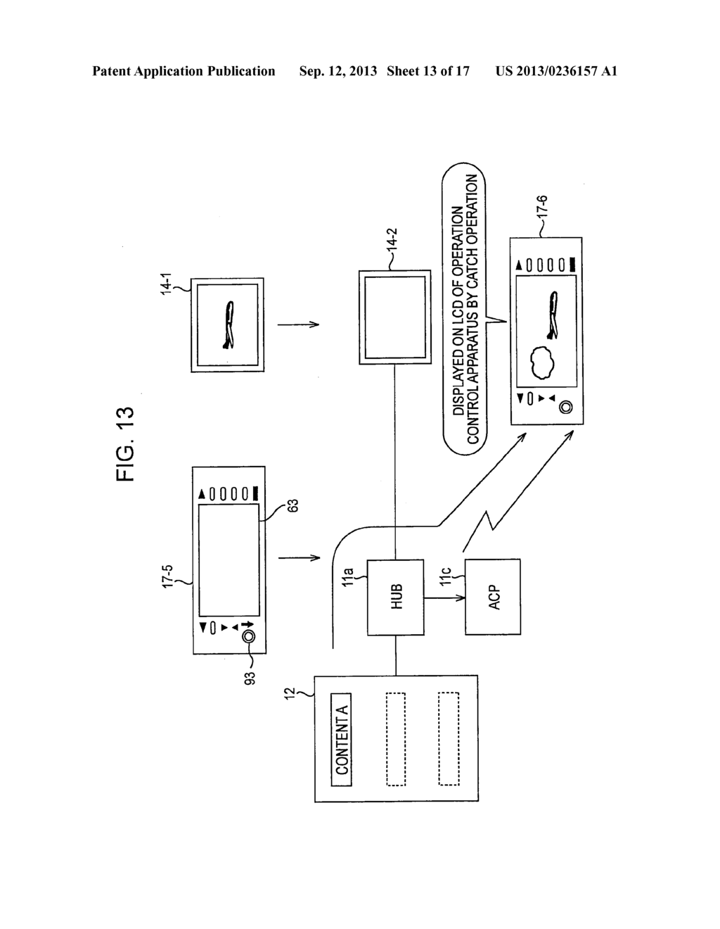 CONTENT DISPLAY-PLAYBACK SYSTEM, CONTENT DISPLAY-PLAYBACK METHOD,     RECORDING MEDIUM HAVING CONTENT DISPLAY-PLAYBACK PROGRAM RECORDED     THEREON, AND OPERATION CONTROL APPARATUS - diagram, schematic, and image 14