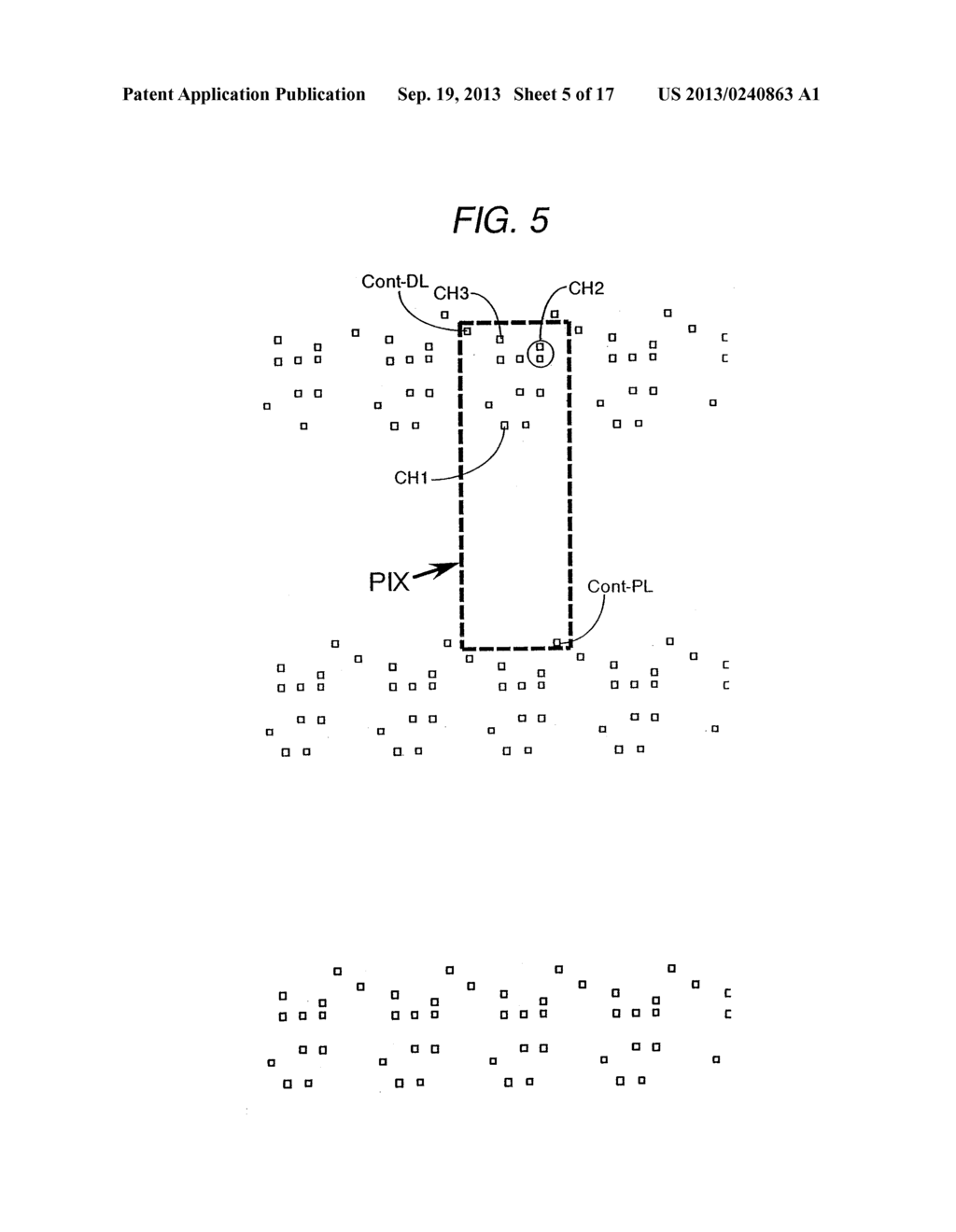 ORGANIC ELECTROLUMINESCENT LIGHT EMITTING DISPLAY DEVICE - diagram, schematic, and image 06