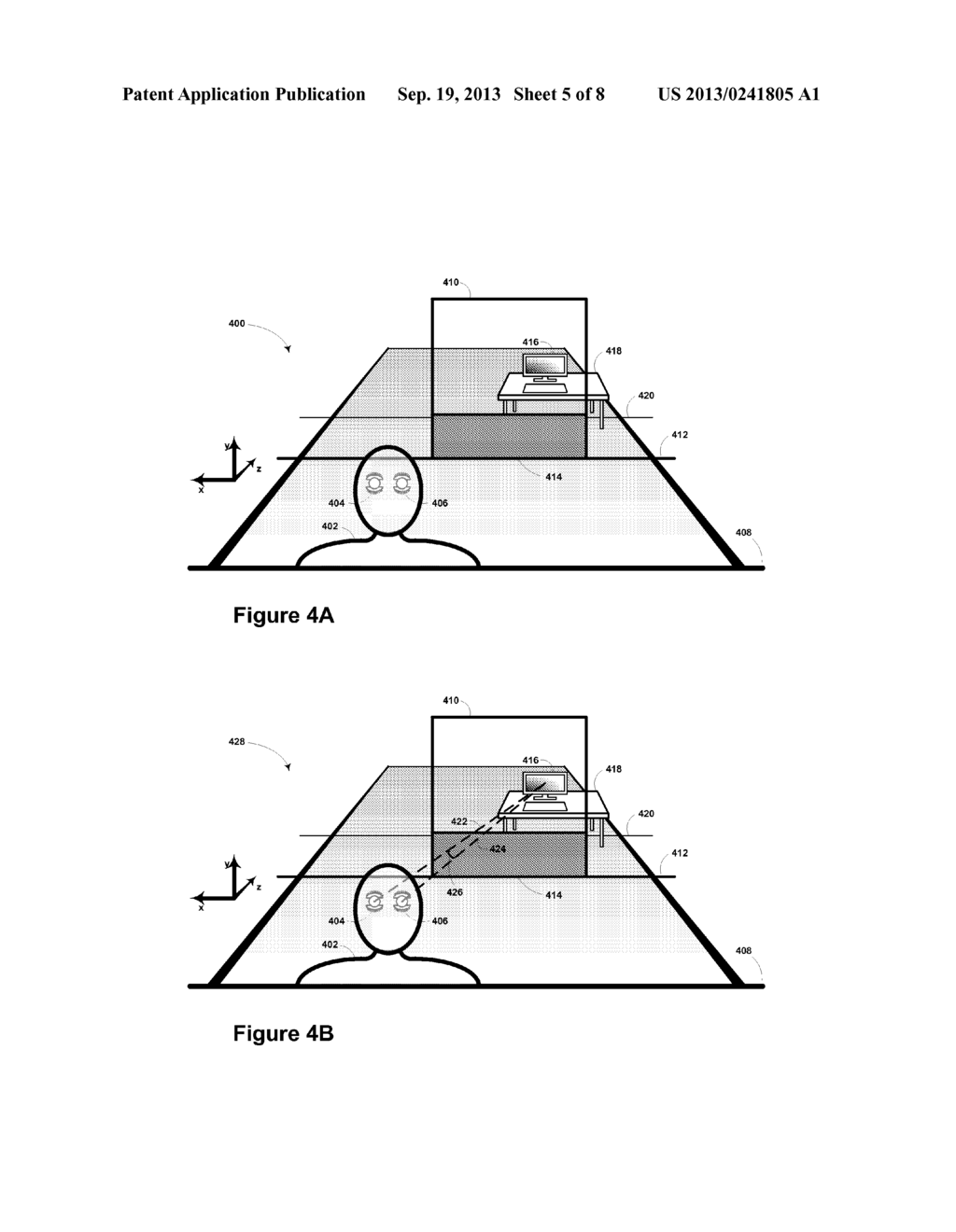 Using Convergence Angle to Select Among Different UI Elements - diagram, schematic, and image 06