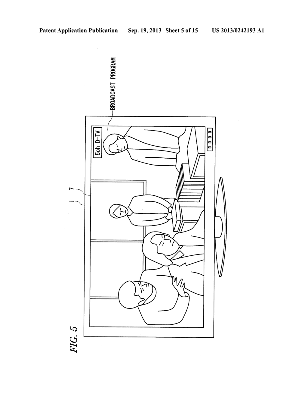 INFORMATION DISPLAY APPARATUS AND INFORMATION DISPLAY METHOD - diagram, schematic, and image 06