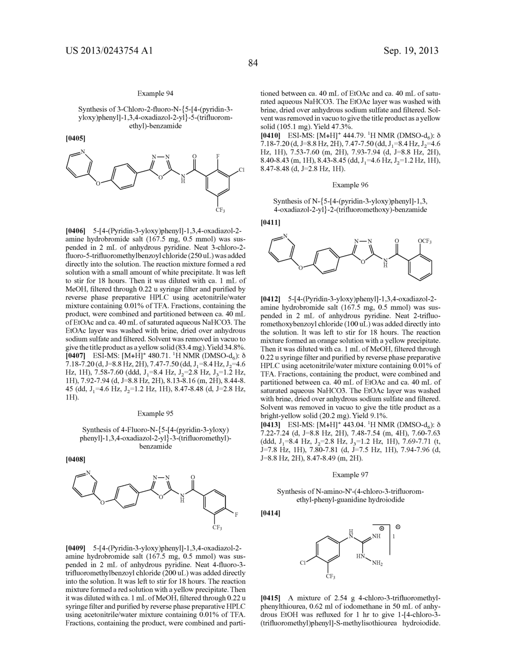 HETEROCYCLIC COMPOUNDS AND METHODS OF USE - diagram, schematic, and image 86