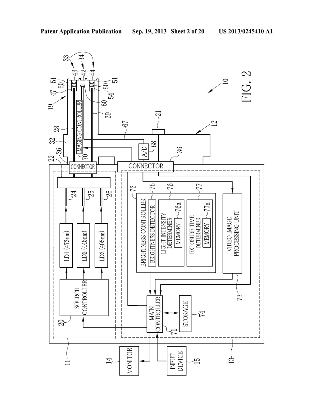 ENDOSCOPE SYSTEM, PROCESSOR DEVICE THEREOF, AND EXPOSURE CONTROL METHOD - diagram, schematic, and image 03