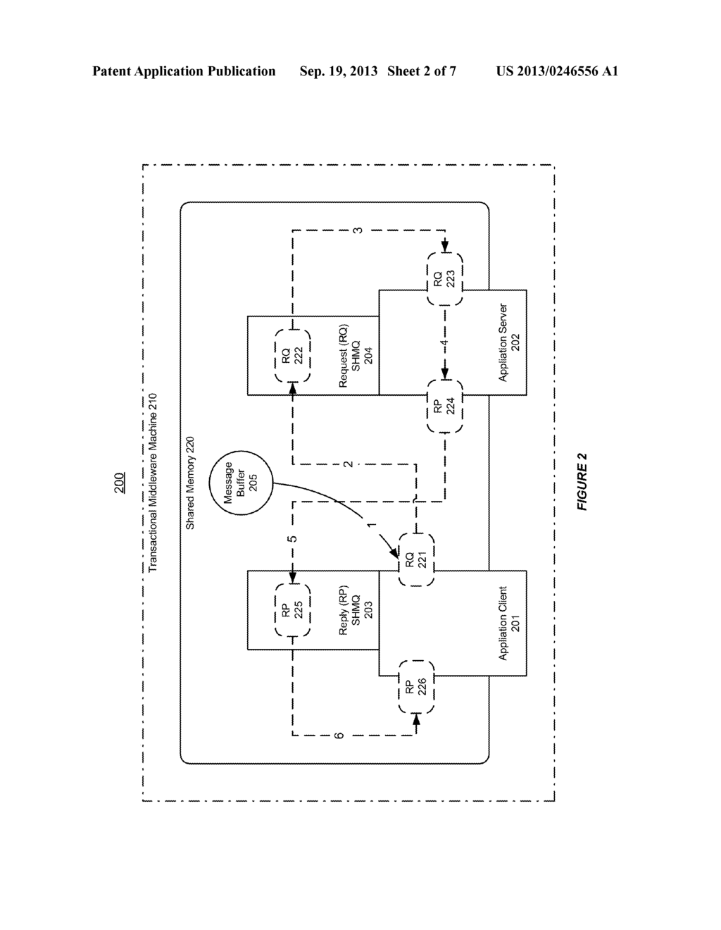SYSTEM AND METHOD FOR SUPPORTING INTRA-NODE COMMUNICATION BASED ON A     SHARED MEMORY QUEUE - diagram, schematic, and image 03