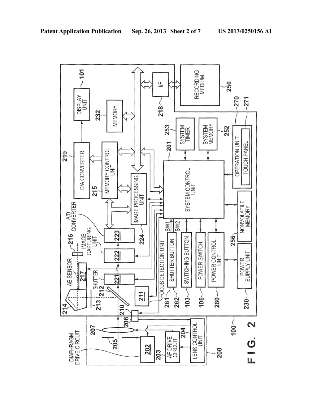 IMAGE CAPTURING APPARATUS AND CONTROL METHOD THEREOF - diagram, schematic, and image 03