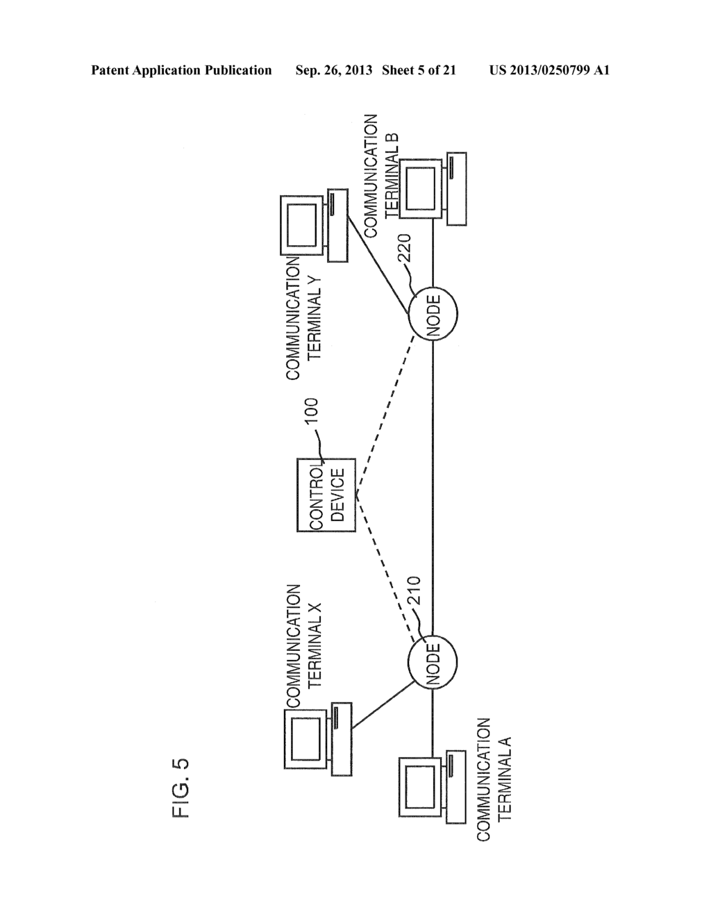 COMMUNICATION SYSTEM, CONTROL DEVICE, NODE CONTROLLING METHOD, AND PROGRAM - diagram, schematic, and image 06