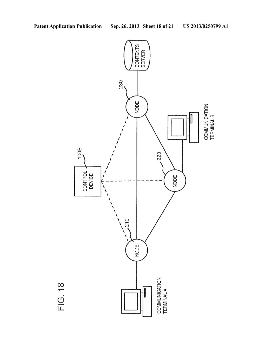 COMMUNICATION SYSTEM, CONTROL DEVICE, NODE CONTROLLING METHOD, AND PROGRAM - diagram, schematic, and image 19