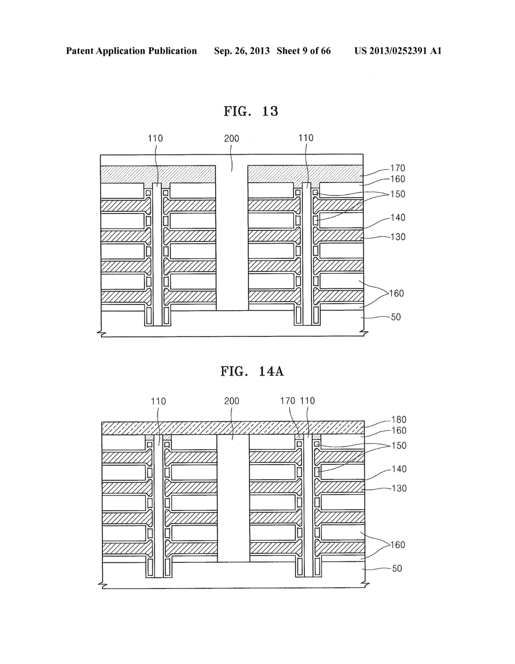 NONVOLATILE MEMORY DEVICE, METHOD OF MANUFACTURING THE NONVOLATILE MEMORY     DEVICE, AND MEMORY MODULE AND SYSTEM INCLUDING THE NONVOLATILE MEMORY     DEVICE - diagram, schematic, and image 10