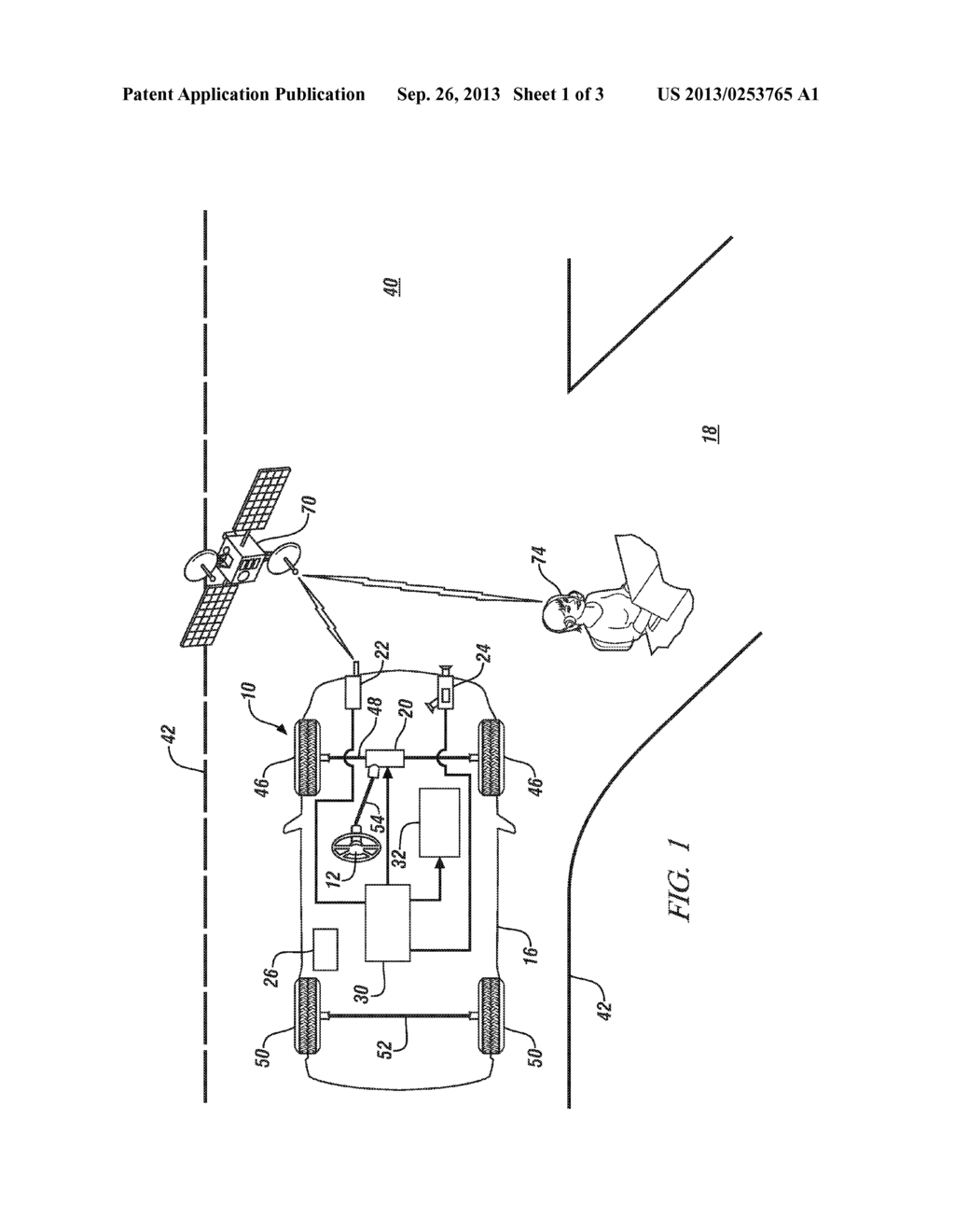 SYSTEM FOR INDICATING AN IMPENDING VEHICLE MANEUVER - diagram, schematic, and image 02