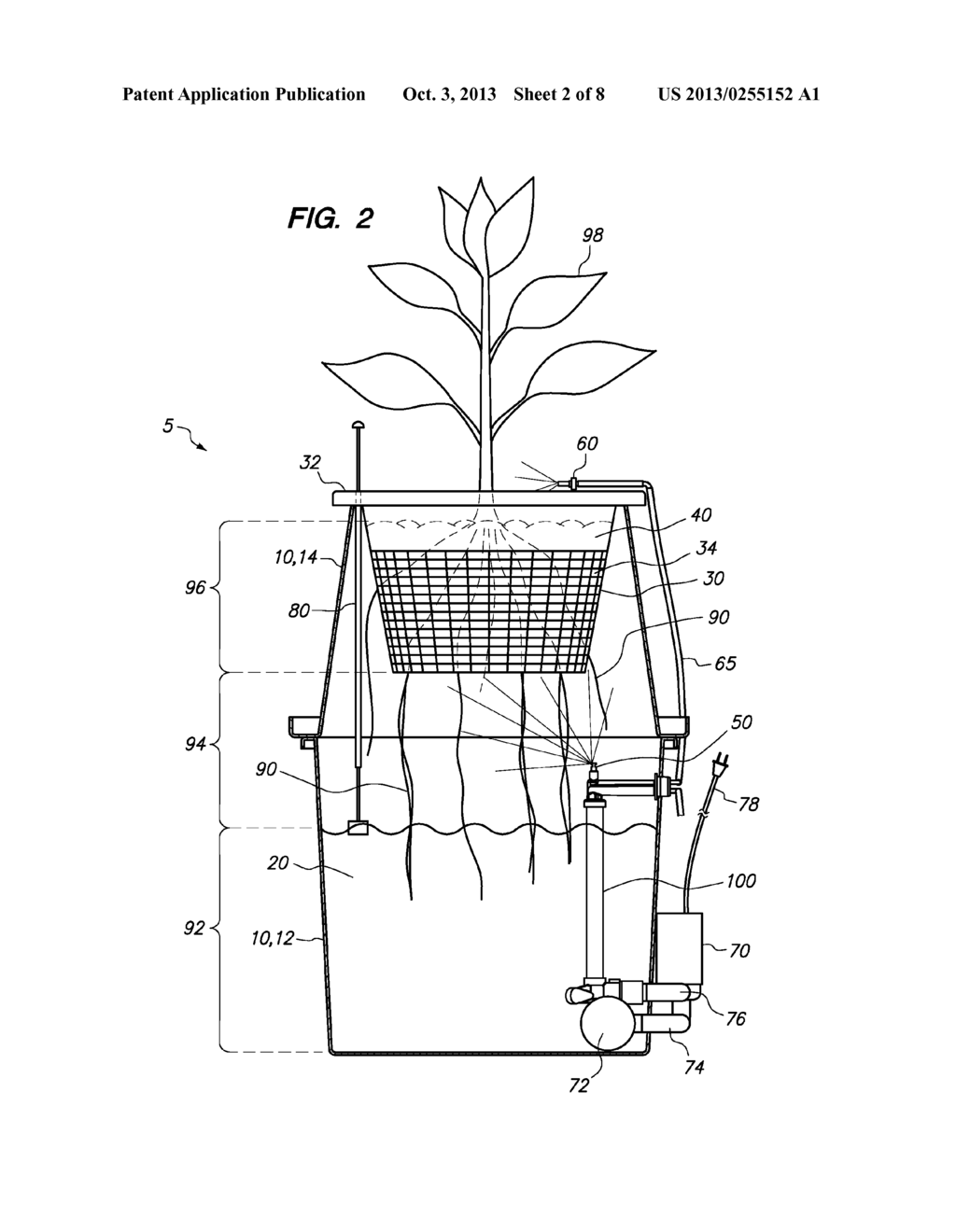 Hydroponic plant container with highly oxygenated nutrient hydroponic plant container with highly oxygenated nutrient solution using continuous air injection and continuous coriolis effect mixing diagram pooptronica