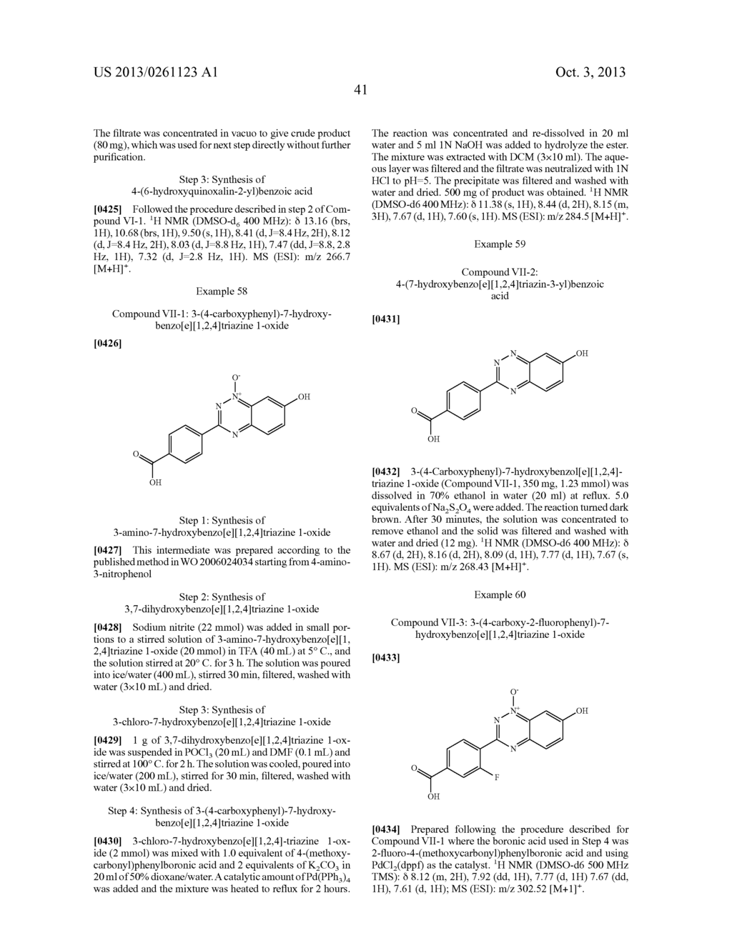 Novel Substituted Bicyclic Aromatic Compounds as S-Nitrosoglutathione     Reductase Inhibitors - diagram, schematic, and image 42