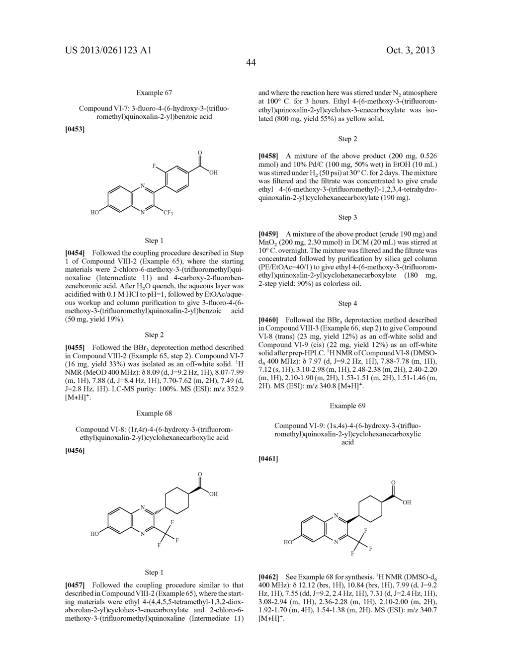 Novel Substituted Bicyclic Aromatic Compounds as S-Nitrosoglutathione     Reductase Inhibitors - diagram, schematic, and image 45