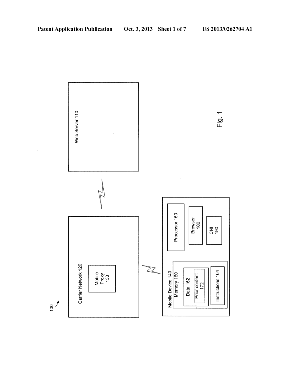 SYSTEM AND METHOD FOR IMPROVING DELIVERY OF CONTENT OVER A NETWORK - diagram, schematic, and image 02