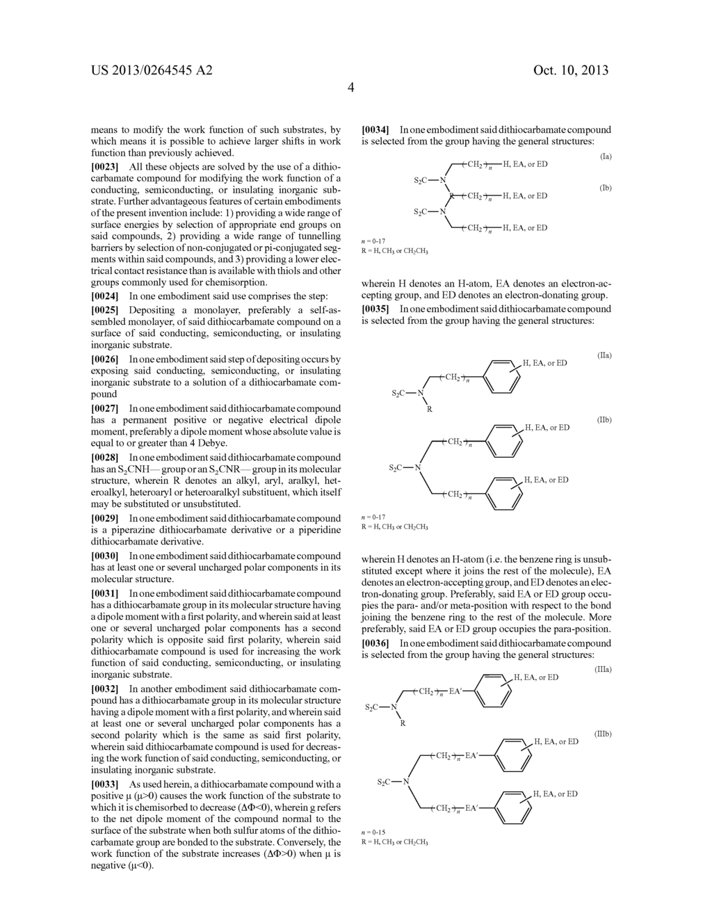 USES OF DITHIOCARBAMATE COMPOUNDS - diagram, schematic, and image 30