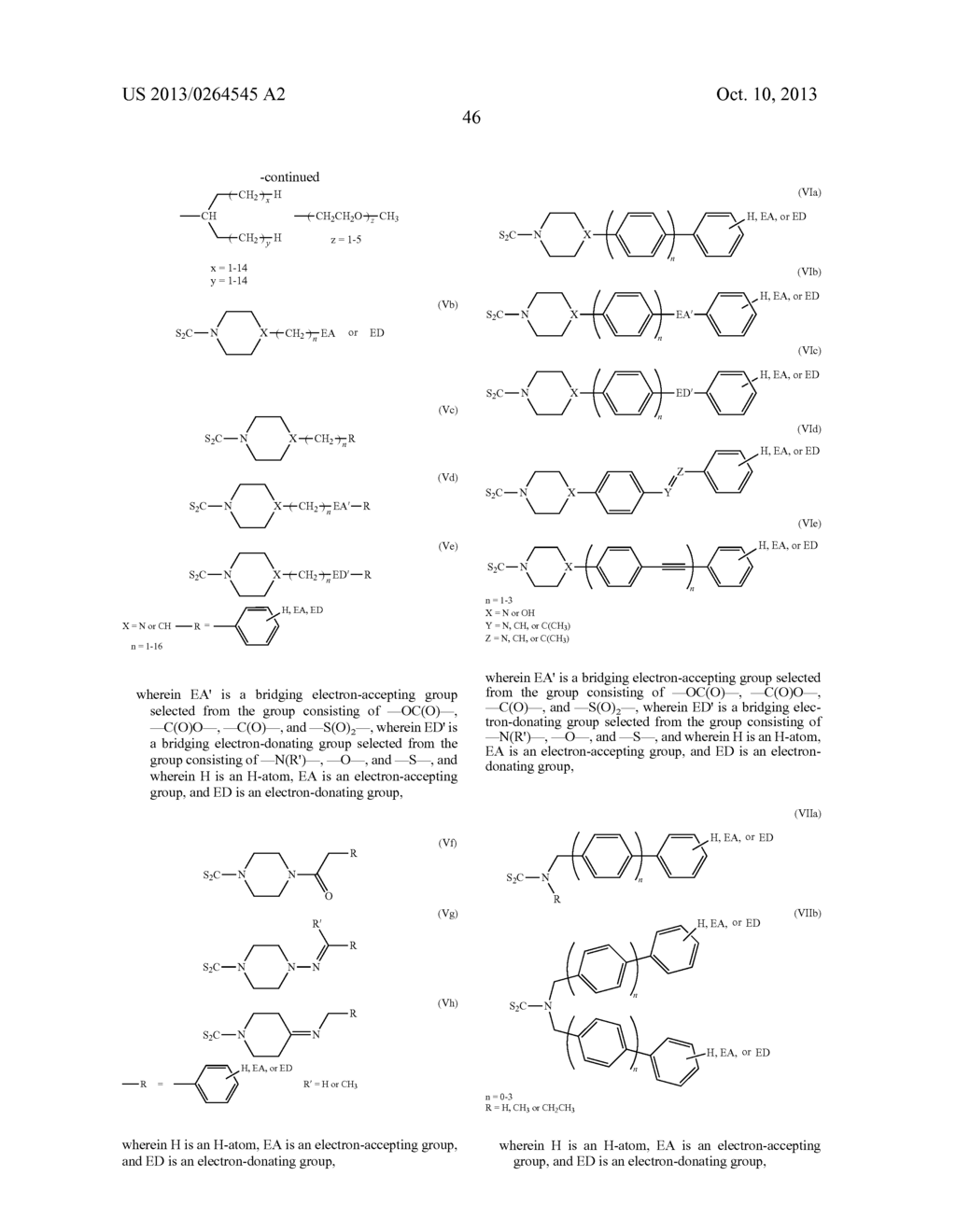 USES OF DITHIOCARBAMATE COMPOUNDS - diagram, schematic, and image 72