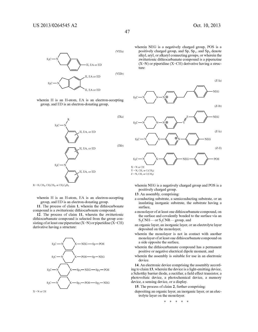 USES OF DITHIOCARBAMATE COMPOUNDS - diagram, schematic, and image 73