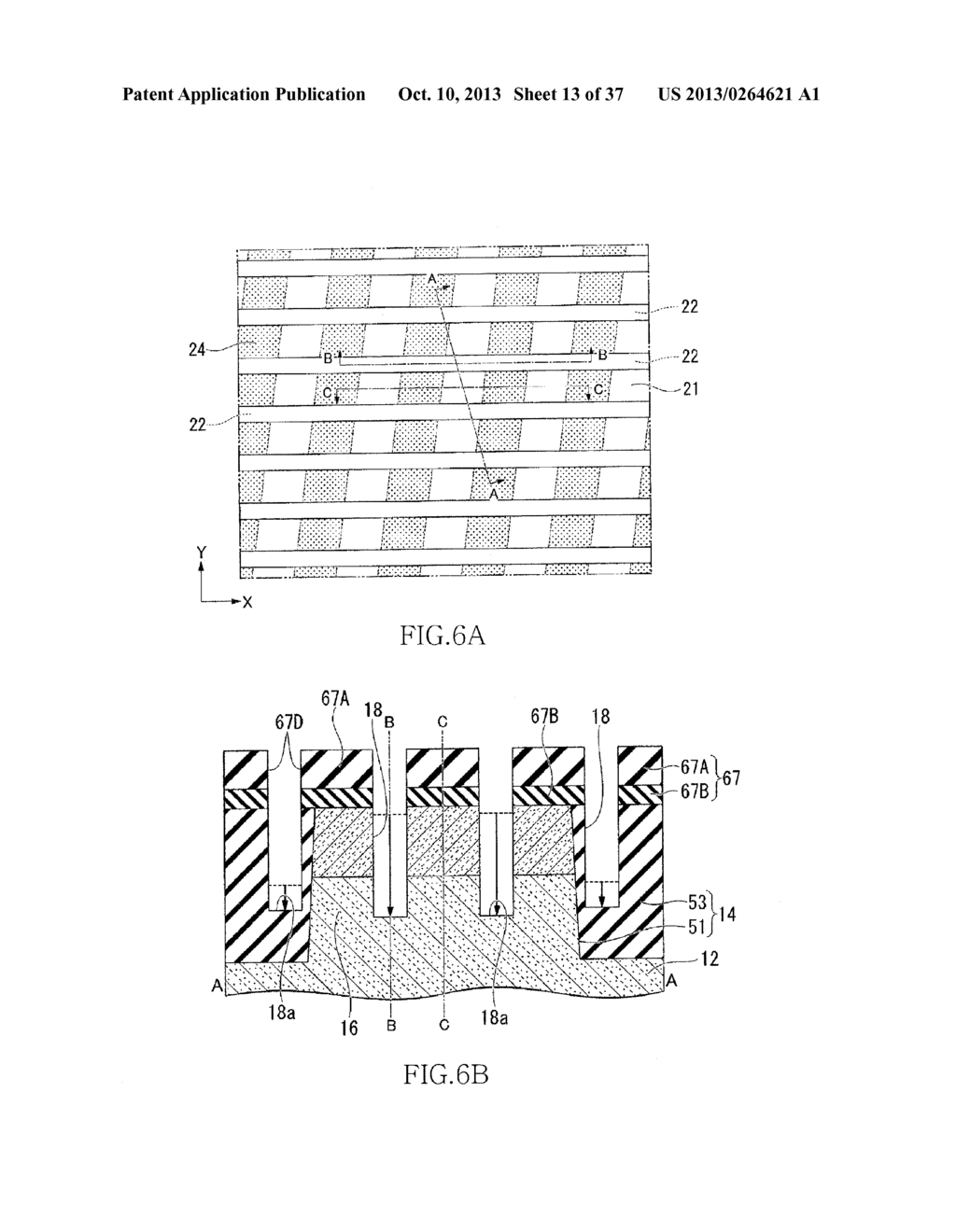 SEMICONDUCTOR DEVICE HAVING FIN-SHAPED FIELD EFFECT TRANSISTOR AND     MANUFACTURING METHOD THEREOF - diagram, schematic, and image 14