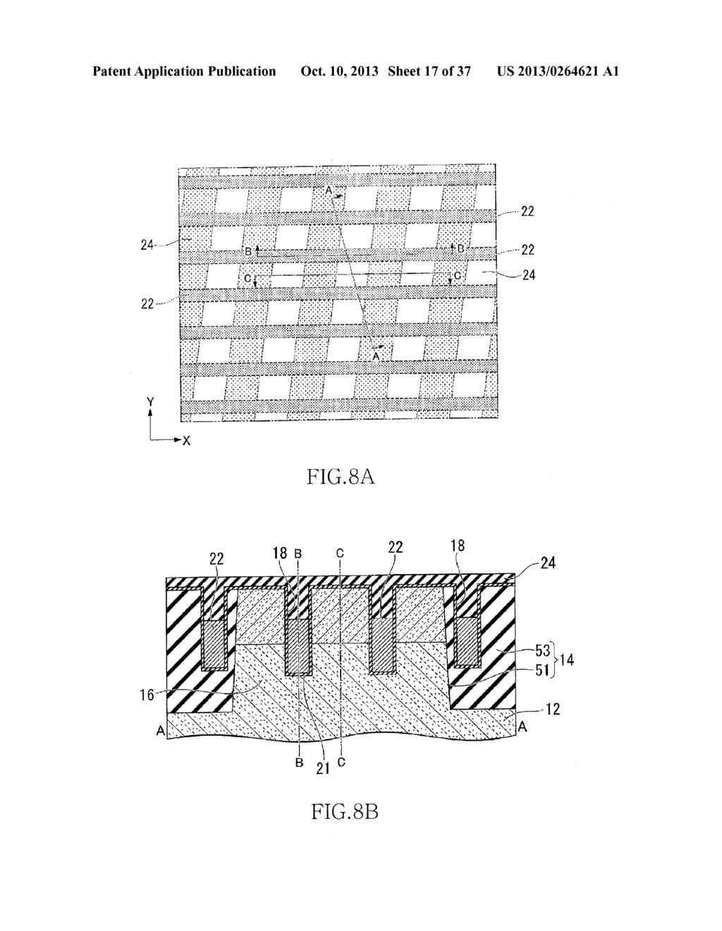 SEMICONDUCTOR DEVICE HAVING FIN-SHAPED FIELD EFFECT TRANSISTOR AND     MANUFACTURING METHOD THEREOF - diagram, schematic, and image 18