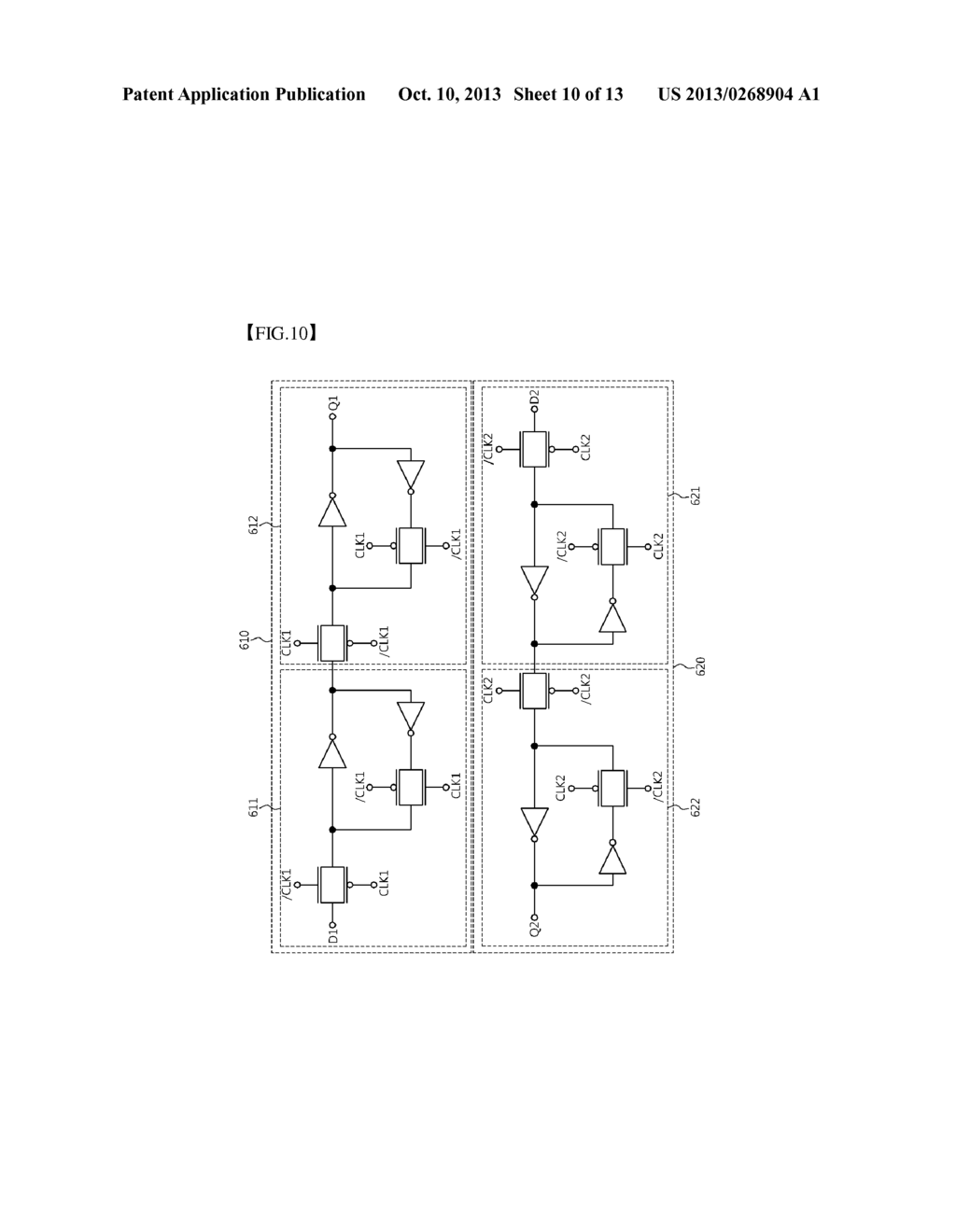 Layout Library Of Flip Flop Circuit Diagram Schematic And Image 11 D Ff