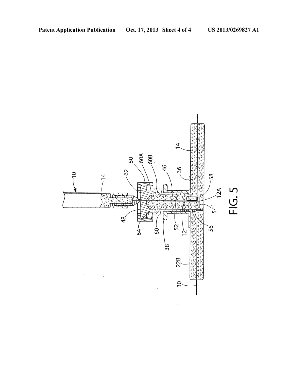 TWO COMPARTMENT SYRINGE ACCESSIBLE PACKAGE AND METHOD OF USING AND MAKING     THE SAME - diagram, schematic, and image 05