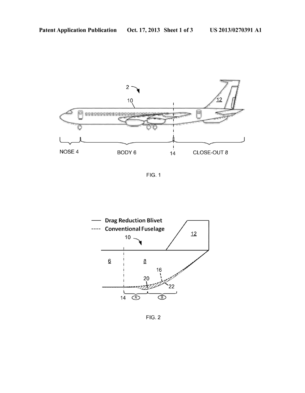 Fuselage Drag Reduction Aircraft Fuselage Drag