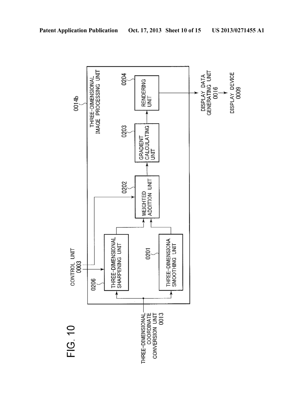 ULTRASONIC DIAGNOSTIC DEVICE AND IMAGE PROCESSING METHOD - diagram, schematic, and image 11