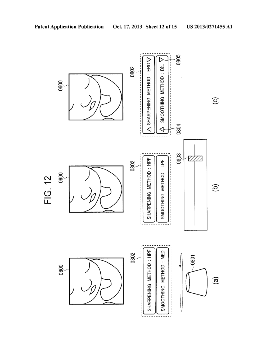 ULTRASONIC DIAGNOSTIC DEVICE AND IMAGE PROCESSING METHOD - diagram, schematic, and image 13