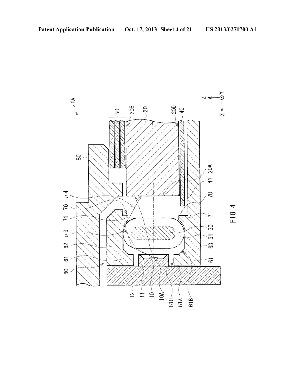 LIGHT EMITTING DEVICE, DISPLAY UNIT, AND ILLUMINATION UNIT - diagram, schematic, and image 05
