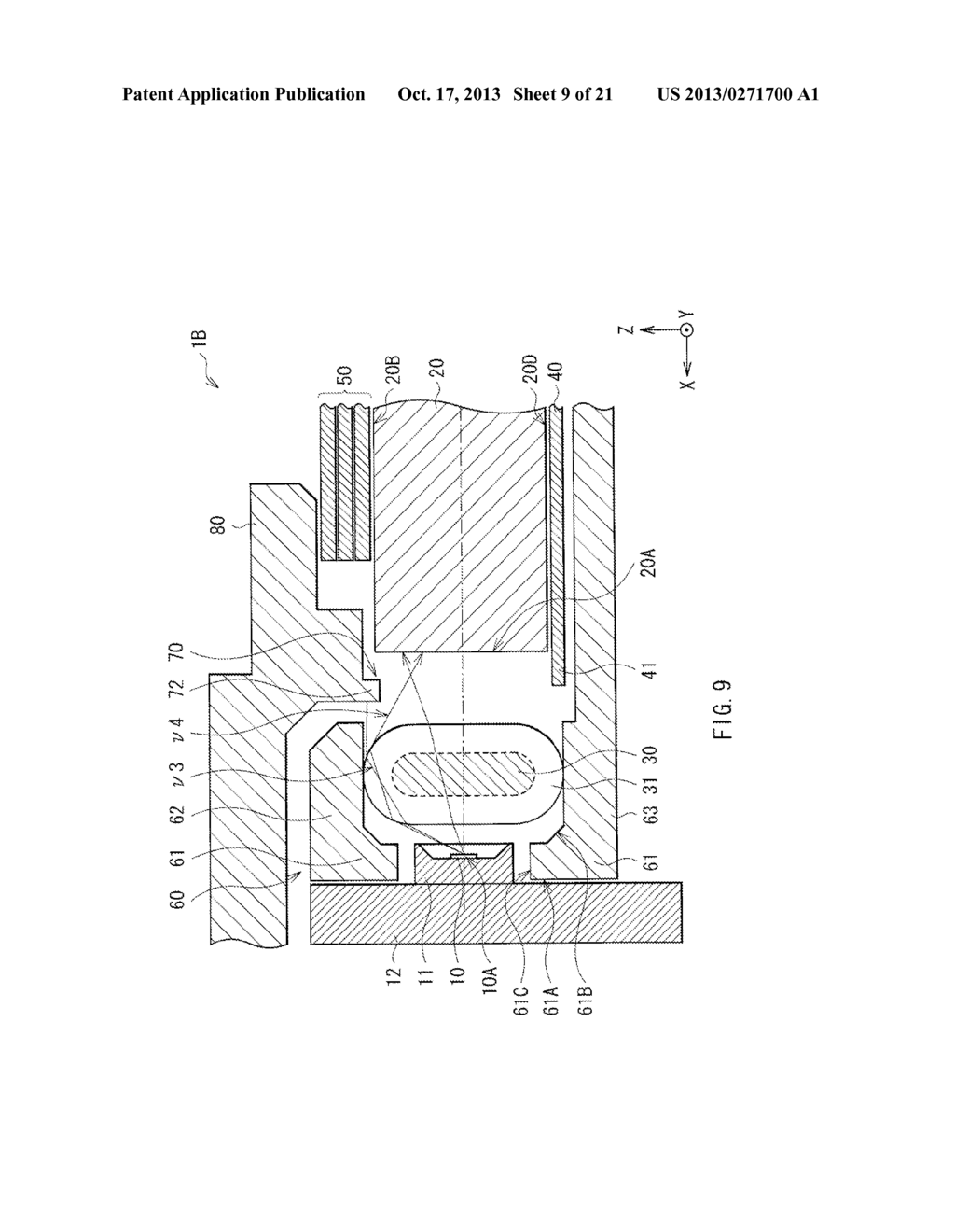 LIGHT EMITTING DEVICE, DISPLAY UNIT, AND ILLUMINATION UNIT - diagram, schematic, and image 10