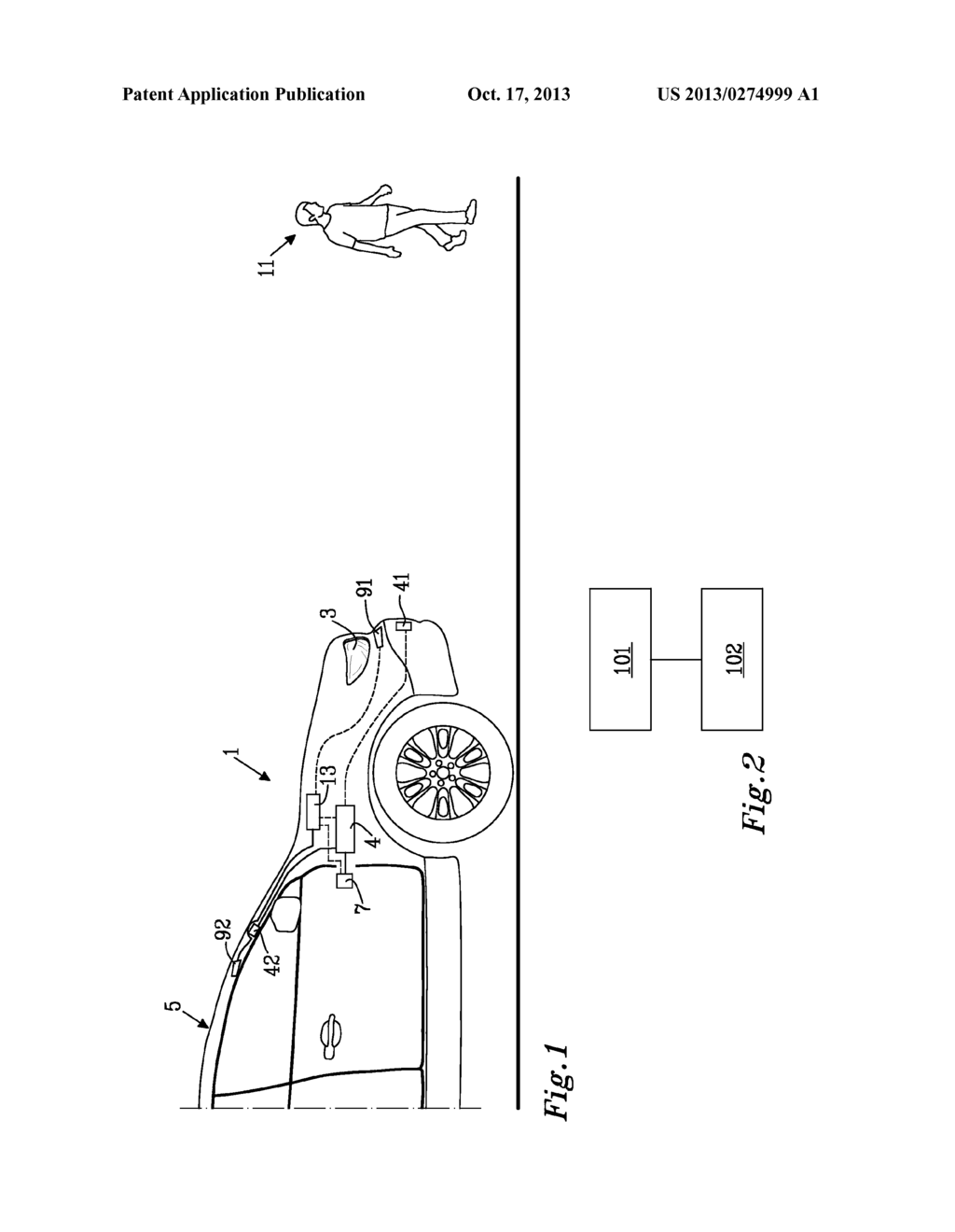 VEHICLE SAFETY ILLUMINATION ARRANGEMENT AND METHOD - diagram, schematic, and image 02