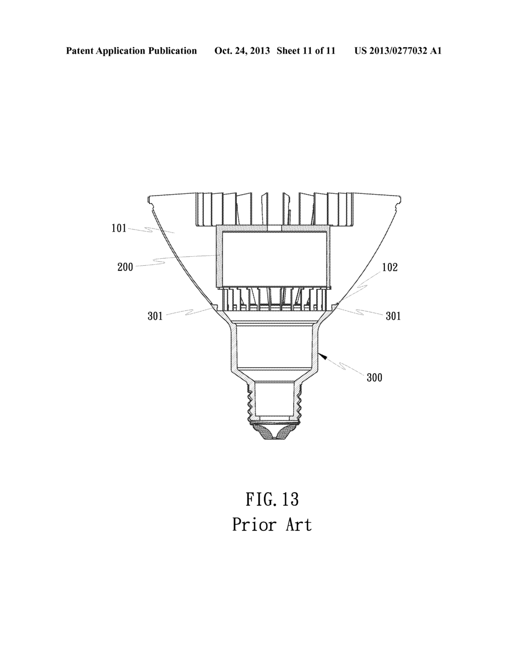 CONNECTION STRUCTURE OF LED LAMP HOLDER AND HEAT RADIATION FINS ...