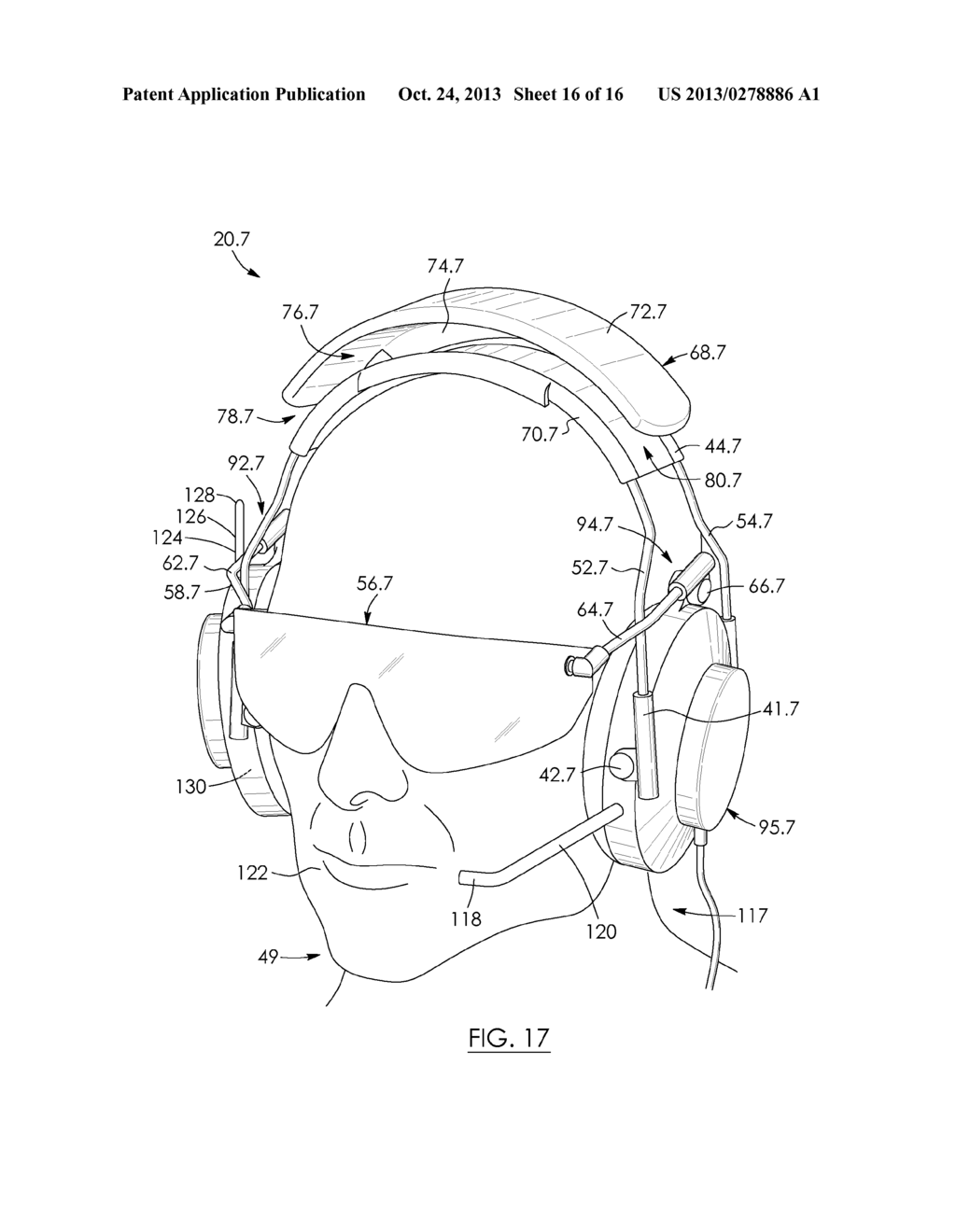EAR-ENGAGING AND EYE-COVERING HEAD ASSEMBLY - diagram, schematic, and image 17