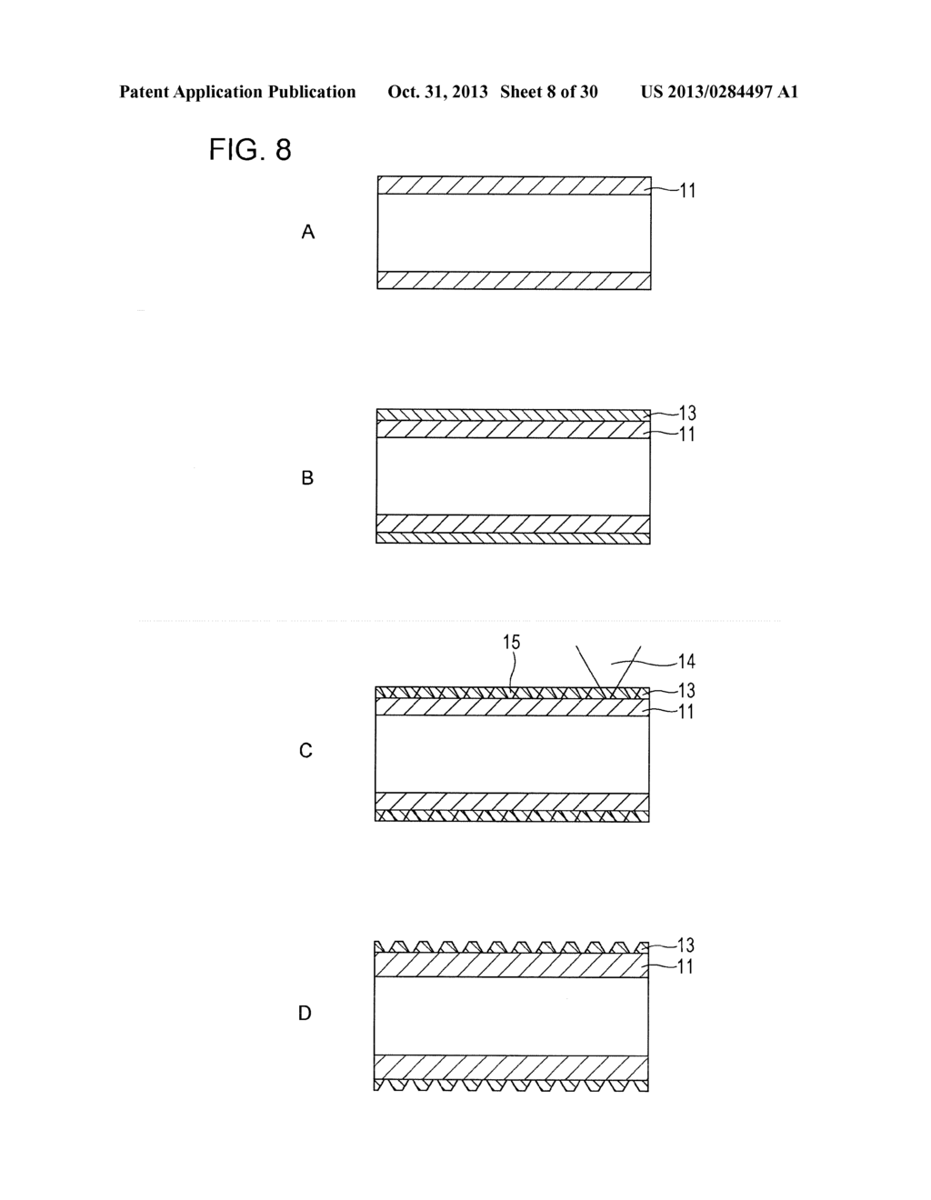 TRANSPARENT CONDUCTIVE ELEMENT, INPUT DEVICE, AND DISPLAY DEVICE - diagram, schematic, and image 09