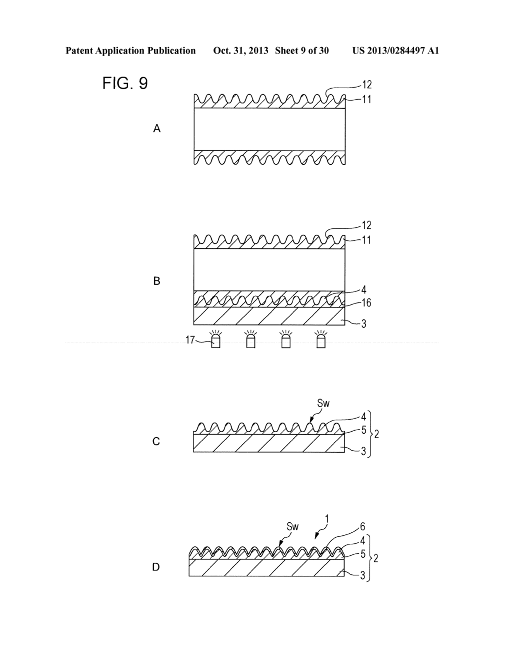 TRANSPARENT CONDUCTIVE ELEMENT, INPUT DEVICE, AND DISPLAY DEVICE - diagram, schematic, and image 10