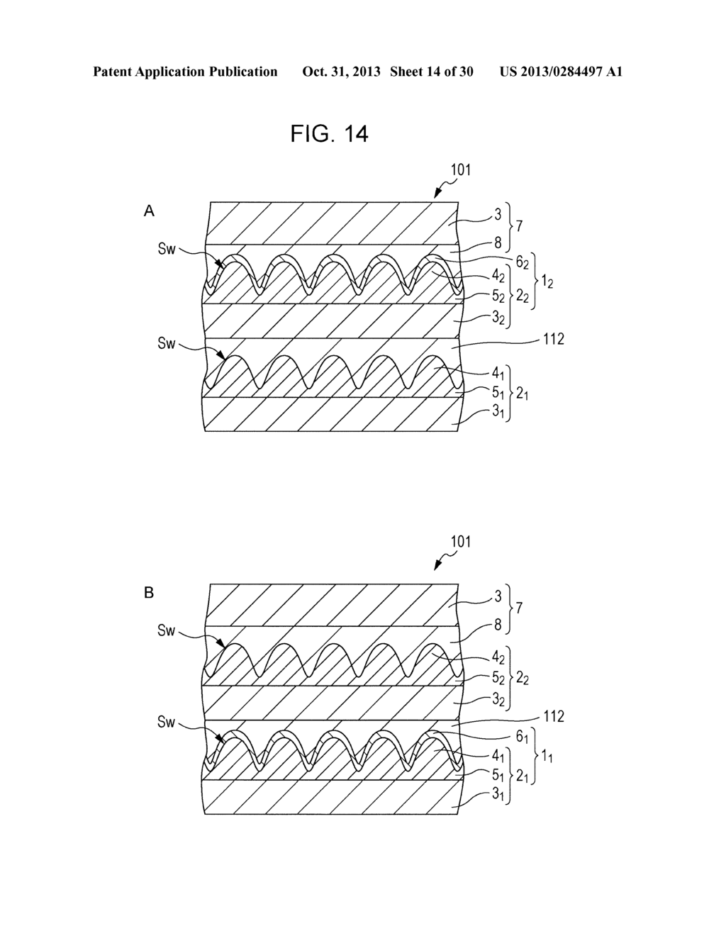 TRANSPARENT CONDUCTIVE ELEMENT, INPUT DEVICE, AND DISPLAY DEVICE - diagram, schematic, and image 15