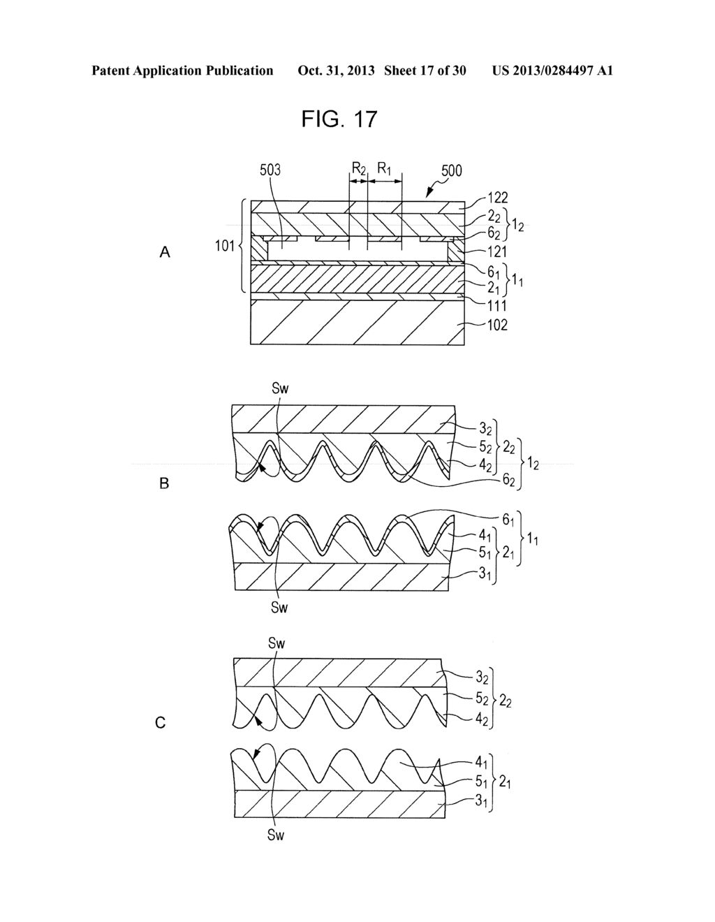 TRANSPARENT CONDUCTIVE ELEMENT, INPUT DEVICE, AND DISPLAY DEVICE - diagram, schematic, and image 18