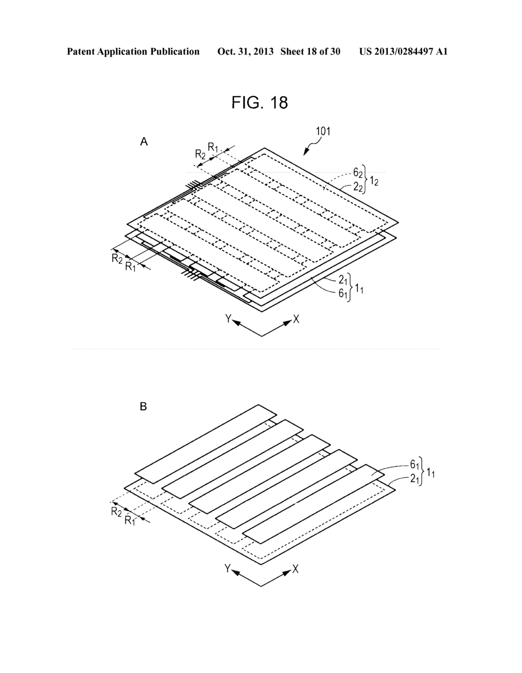 TRANSPARENT CONDUCTIVE ELEMENT, INPUT DEVICE, AND DISPLAY DEVICE - diagram, schematic, and image 19
