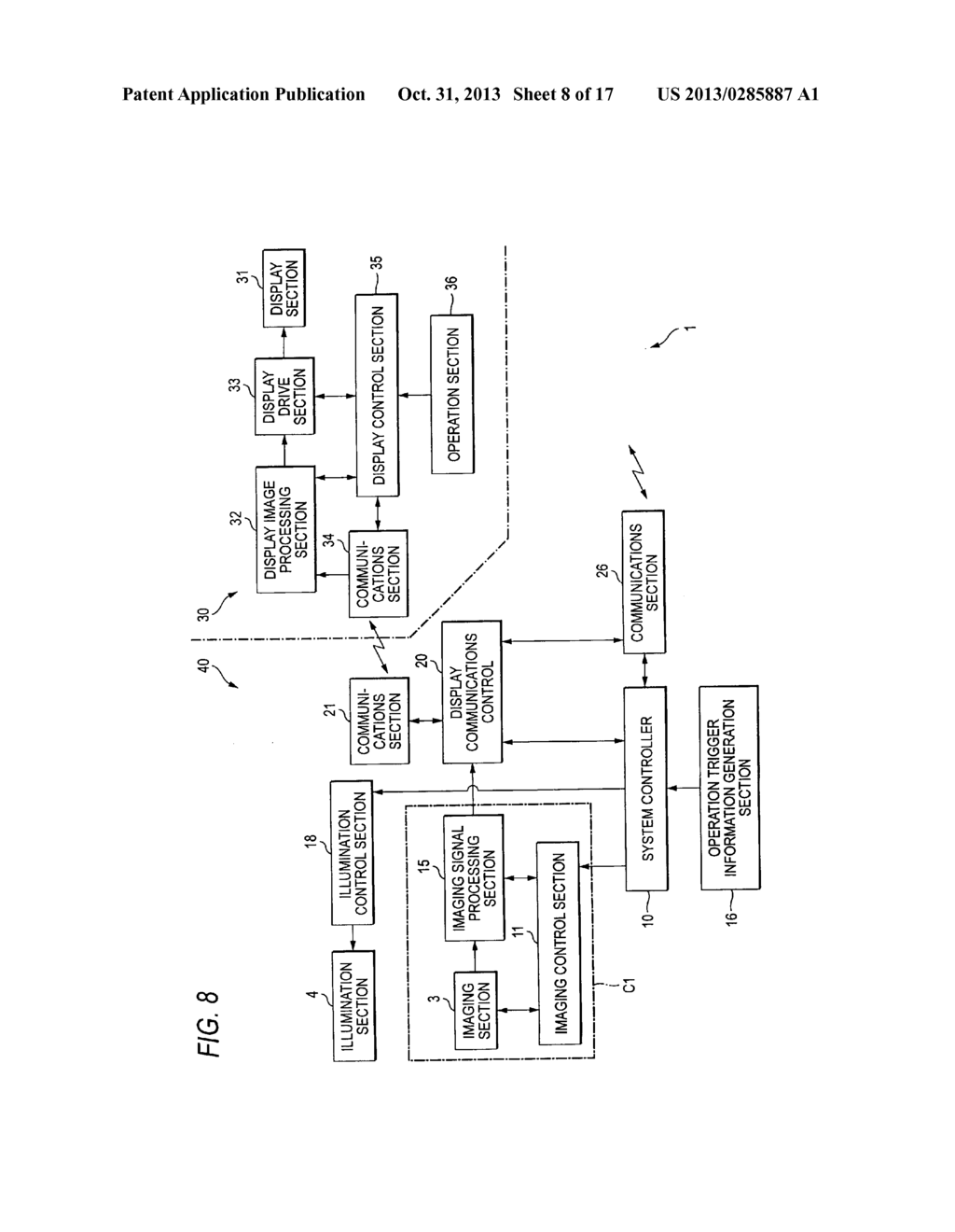IMAGING DISPLAY APPARATUS AND METHOD - diagram, schematic, and image 09