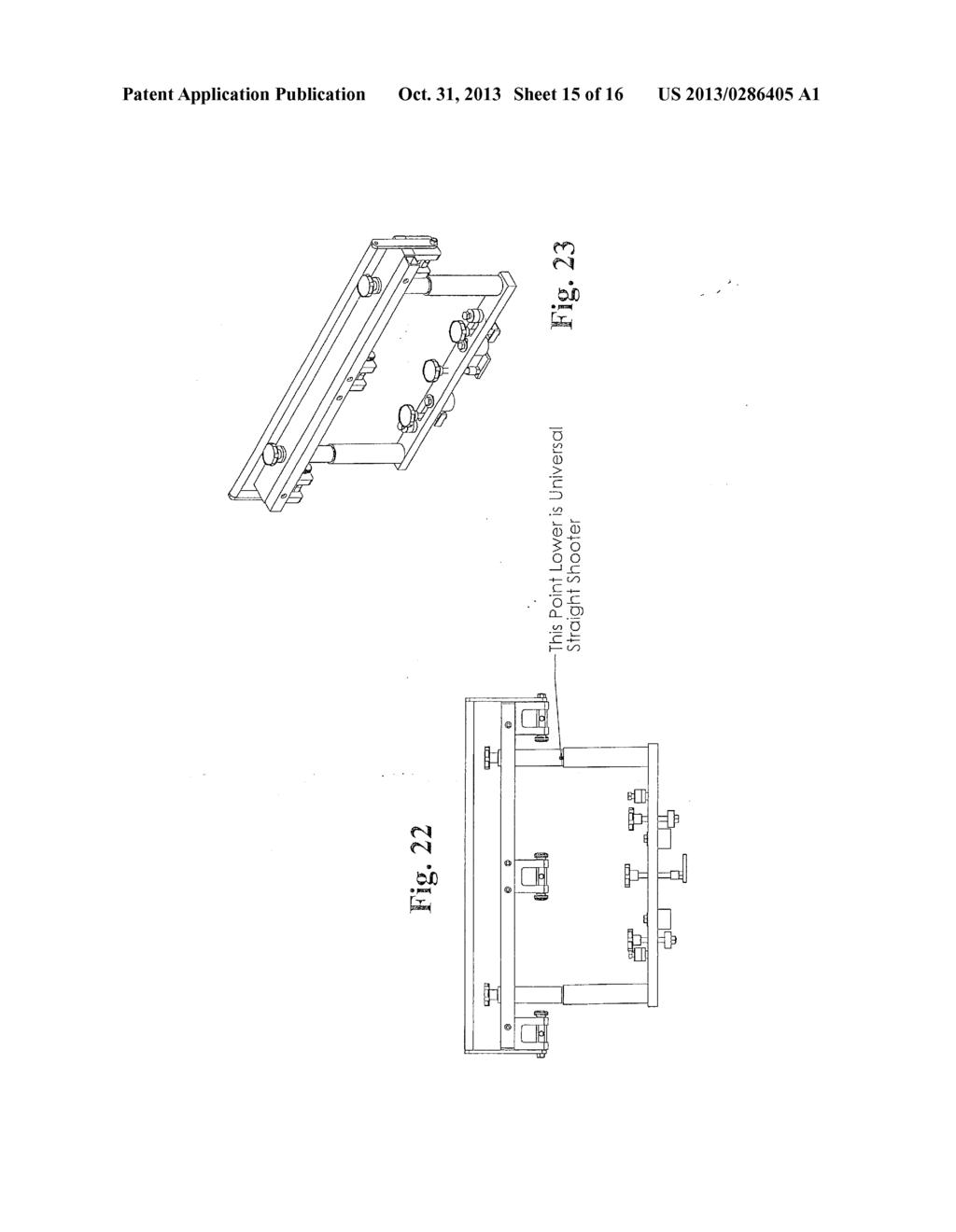 SELF-CENTERING LASER MEASURING SYSTEM FOR MOTORCYCLE FRAME REPAIR ...