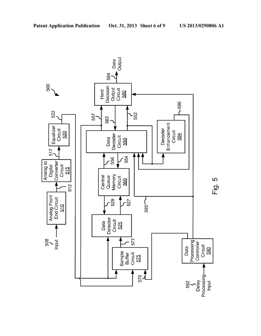 Systems and Methods for Data Decoder State Preservation During Extended     Delay Processing - diagram, schematic, and image 07