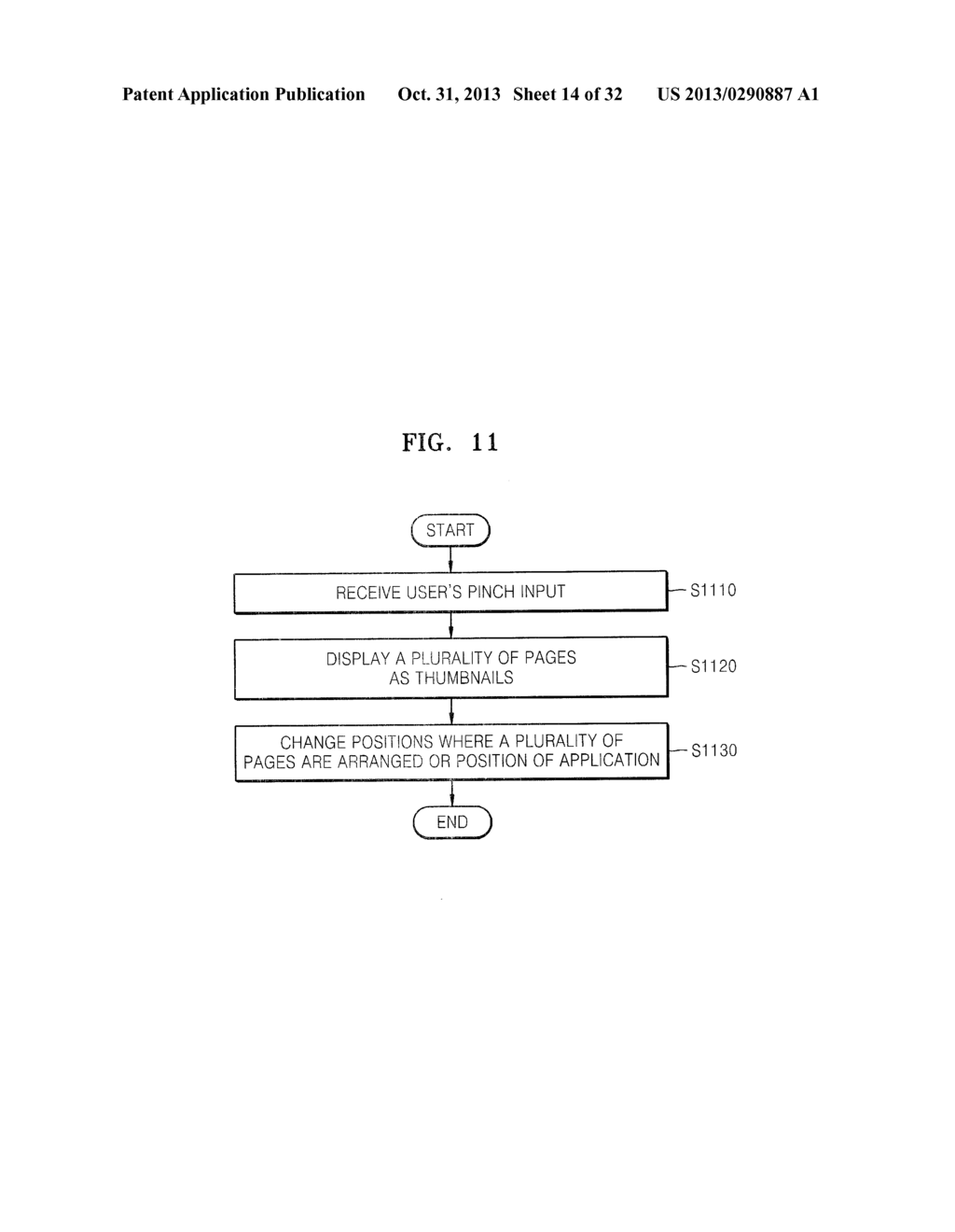 METHOD AND TERMINAL FOR DISPLAYING A PLURALITY OF PAGES,METHOD AND     TERMINAL FOR DISPLAYING A PLURALITY OF APPLICATIONS BEING EXECUTED ON     TERMINAL, AND METHOD OF EXECUTING A PLURALITY OF APPLICATIONS - diagram, schematic, and image 15