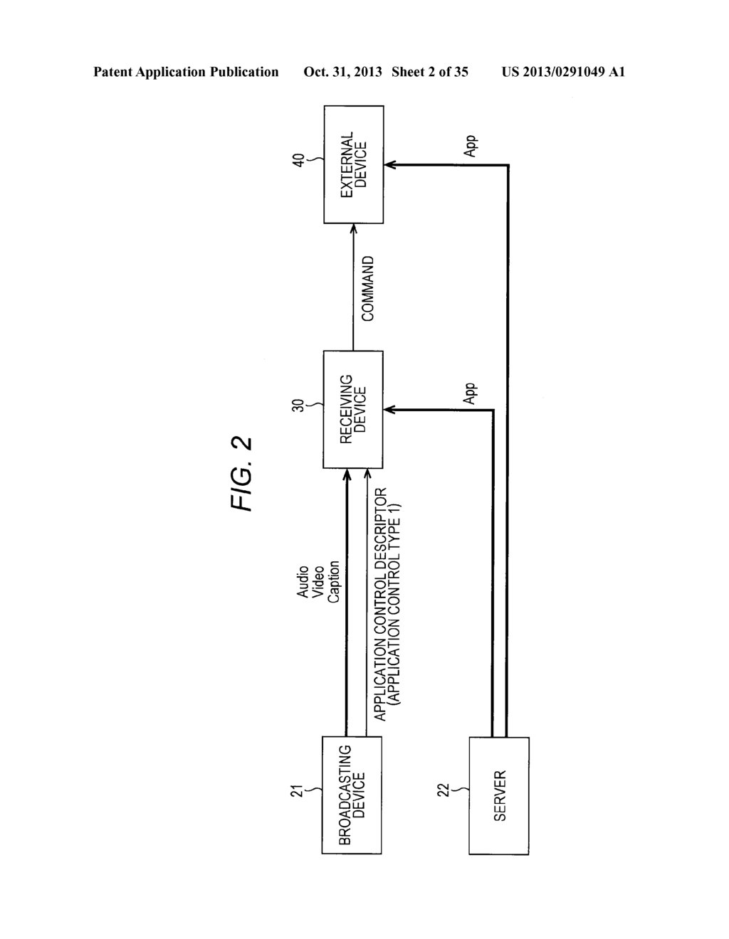 RECEIVING DEVICE, RECEIVING METHOD, PROVIDING DEVICE, PROVIDING METHOD,     PROGRAMS, AND BROADCASTING SYSTEM - diagram, schematic, and image 03