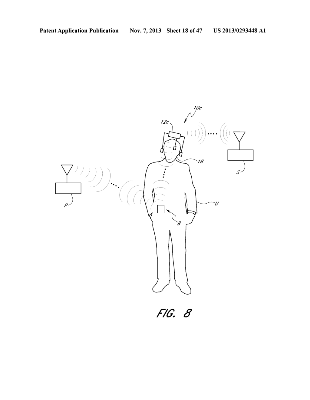 WEARABLE ELECTRONICALLY ENABLED INTERFACE SYSTEM - diagram, schematic, and image 19